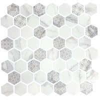 Artisan Solid - Carrara - Size 12x12 mosaic nominal