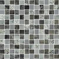 Marble Medley - Grigio Barlin 1x1 - Size 12x12 mosaic