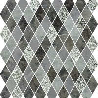 Marble Medley - Grigio Barlin Diamond - Size 12x12mosaic
