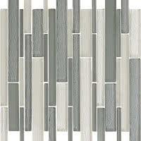 Metallics - Titanium - Size 12x12 mosaic nominal