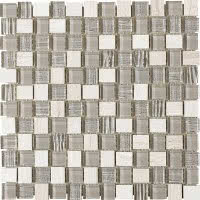 Special Mix - Silver - Size 12x12 mosaic nominal