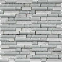 Stone Medley - White - Size 12x12 mosaic