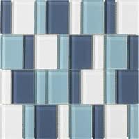Uptown - Sky - Size 12x12 mosaic nominal