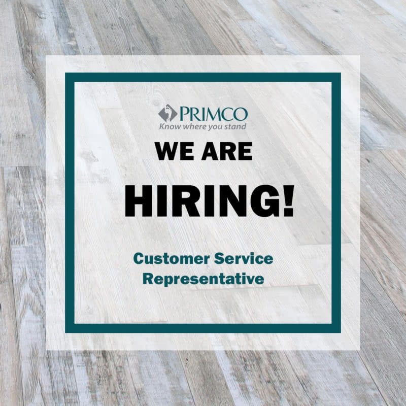 customer service representative primco
