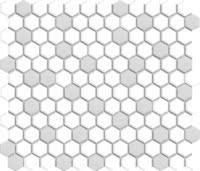 Restoration Mosaic - Gray White - Size 10x12